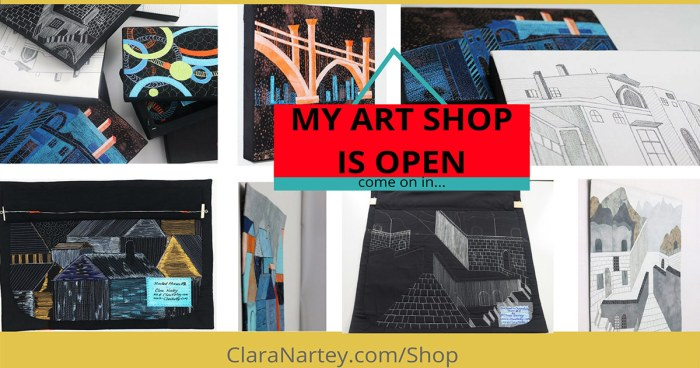 Contemporary Textile Art Shop is Open
