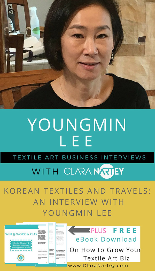 Korean Textiles Tours | Youngmin Lee | Bojagi | Madeub