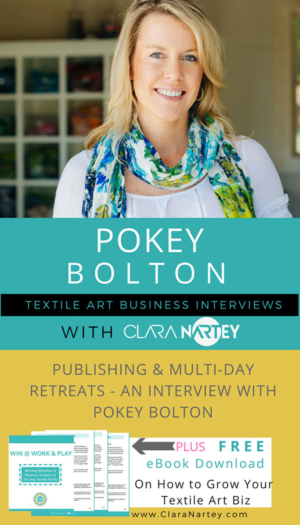 Pokey Bolton | Quilting Arts Magazine | Quilting Arts TV | Publishing Quilt Books | Quilt Retreats | Retreats for Quilt Teachers| |