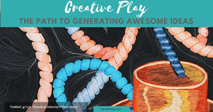 Creative Play | Thread Sketching