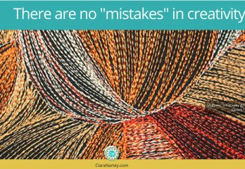 There are no mistakes in creativity | Happy accidents