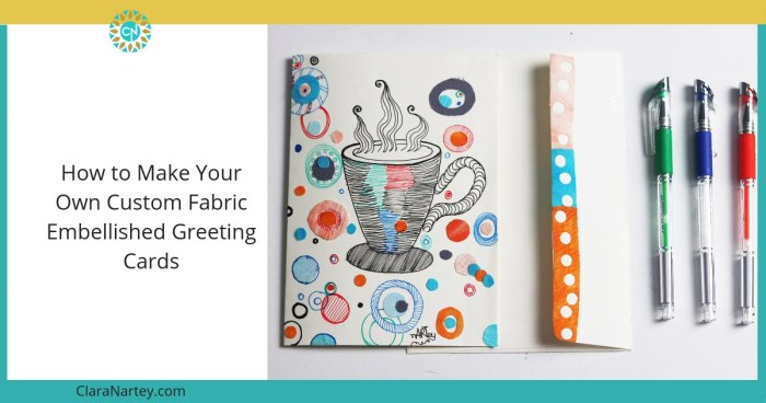 Start Small – [Embellished Greeting Cards]