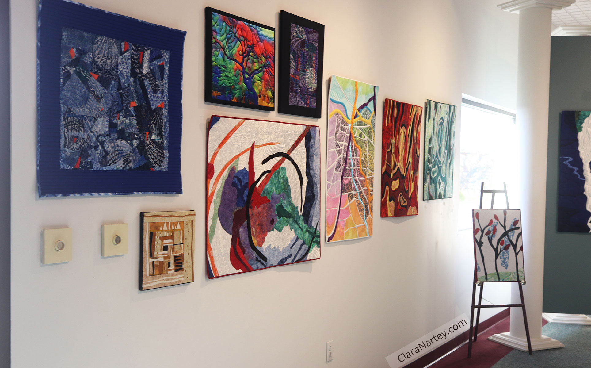 Thread Count - A fiber art exhibition featuring Clara Nartey, Kate Themel, Diane Cadrain, Cathy Whall-Smith and Judy Ross