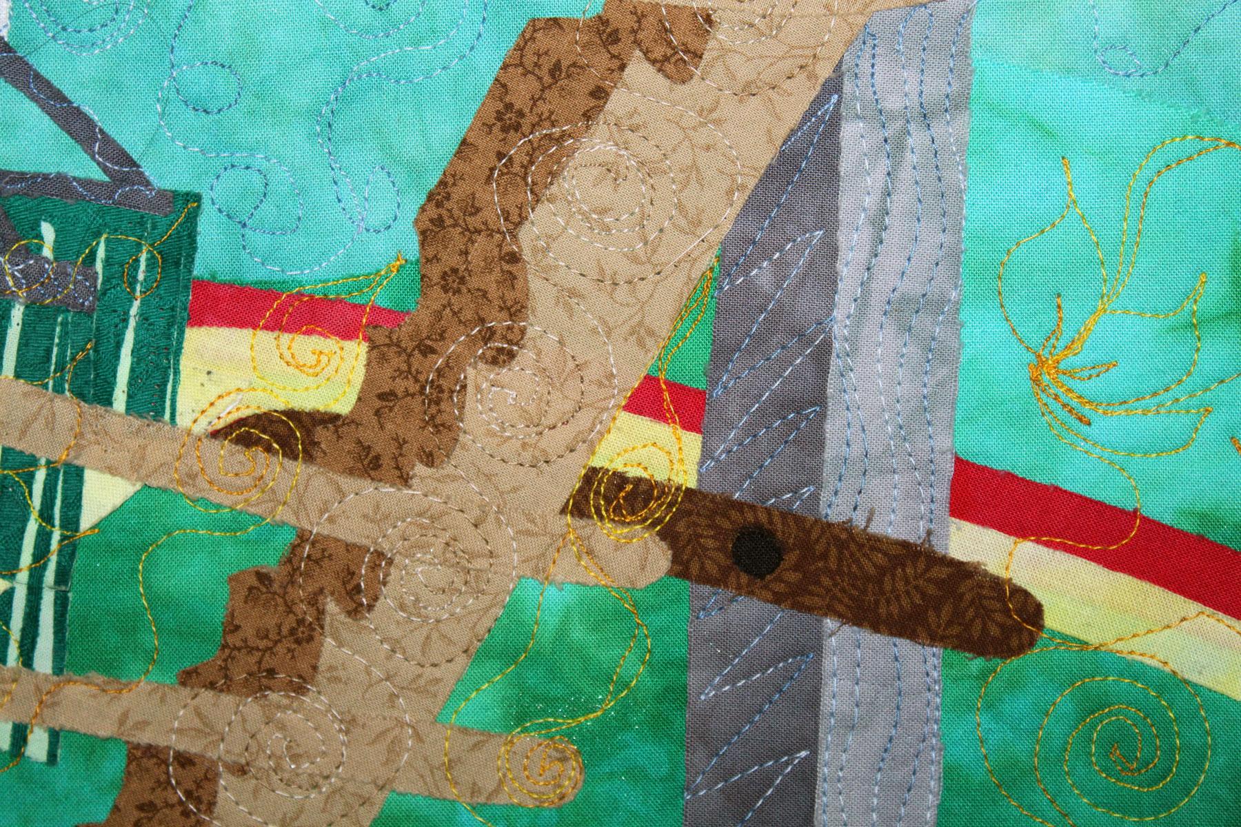 Textile Art| Fiber Art | Art Quilt | Craft | Pandemic