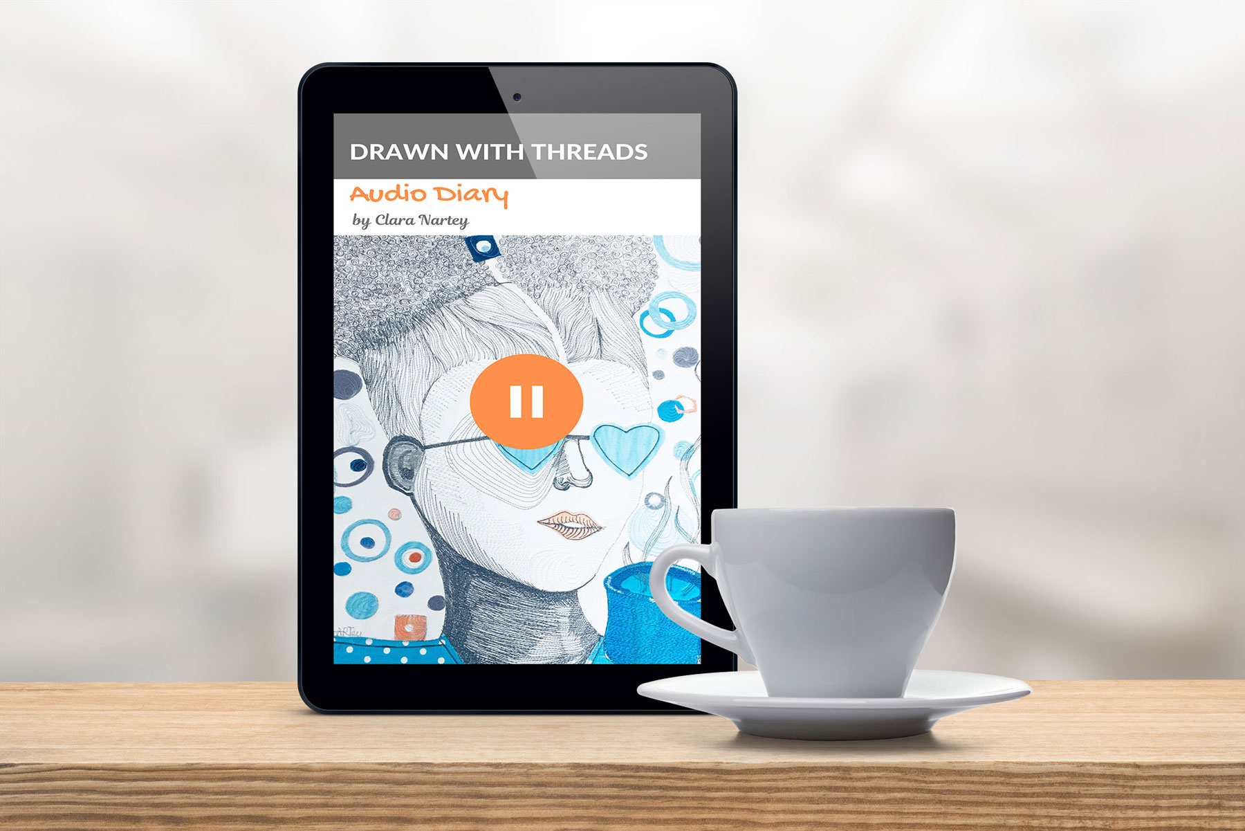 Electronic version of artist catalog