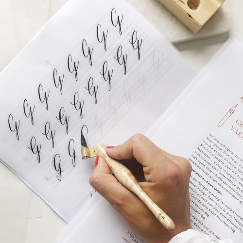 Kalligrafie Übungsblätter