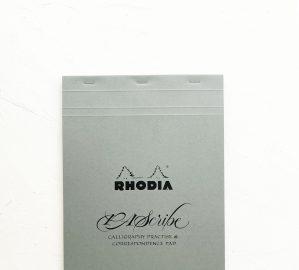 PAScribe Rhodia Pad grau