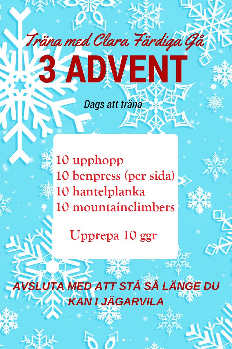 tredje advent