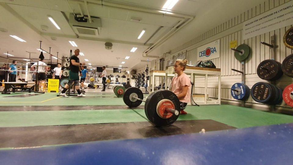 träning som tar hand om insidan