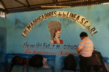 At the Mexico-Guatemala boarder