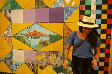 love me some murals, in San Juan la Laguna, Lago Atitlan, Guatemala | by Clare McInerney