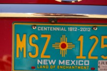 new mexico has the prettiest license plates