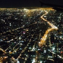 The view of el DF from the air
