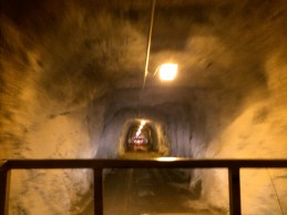 An old mining tunnel that felt like something straight out of Indiana Jones