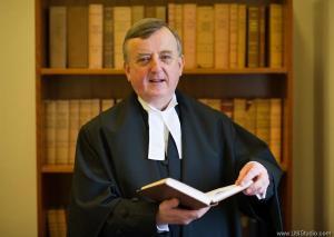 Judge Patrick Durcan advised the defendant to get legal representation.