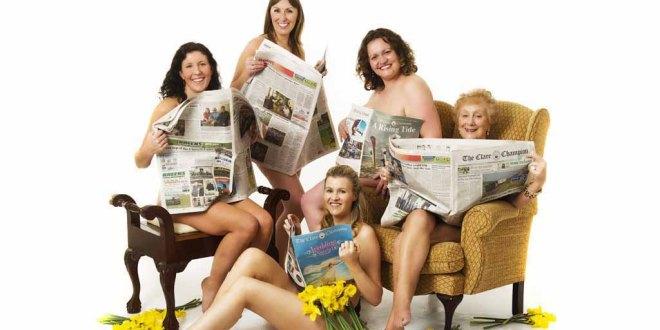 From left, Saoirse Byrne as Annie, Maeve Plunkett as Chris, Rachael Culligan as Celia, Sandra Cox as Cora and Rita Brady as Jessie. Photograph by John Kelly