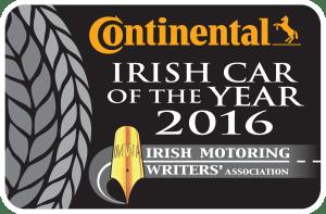 Continental Irish Car of the Year 2016