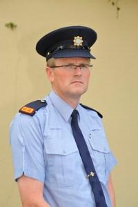 Detective Inspector John Galvin at Ennis Garda Station. Photograph by John Kelly.