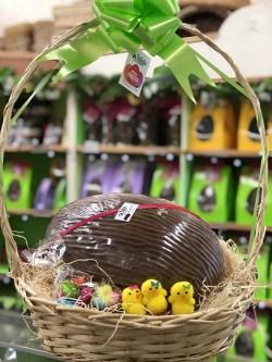 Wilde Irish Chocolates Jumbo Egg Basket