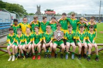 The victorious Kilkishen/O Callaghan's Mills which beat Bridgetown in their Schools Division 5 final at Cusack Park. Photograph by John Kelly