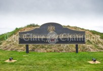 All set for the visit of the United States President Donald J. Trump to his Golf Club at Doonbeg. Photograph by John Kelly