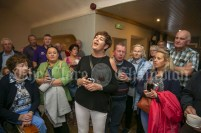 230819 Deirdre Scanlan belts out a tune in The Inis Oir Hotel during the RNLI fund raising cruise to the Cliffs of Moher and Inis Oir with Doolin2Aran Ferries Star of Doolin on Friday evening.Pic Arthur Ellis.