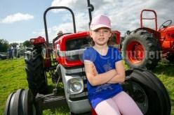 250819 Holly Keehan (7) Ballinruan at Kilmurry Festival Field Day on Sunday.Pic Arthur Ellis.