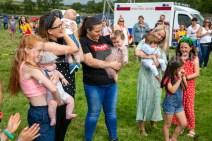 250819 Bonnie babies at Kilmurry Festival Field Day on Sunday.Pic Arthur Ellis.