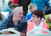 Tom and Julie O Loughlin during the Romantic RNLI Cruise held in association with Bill O Brien's Doolin Ferry Company. Photograph by John Kelly