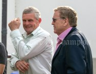 020819 Cllr Joe Cooney and Minister Pat Breen TD at the Scariff harbour festival on Friday evening.pic Arthur Ellis.
