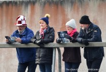 Fans settle in before the Munster Club Intermediate final between St Breckan's and Templenoe at Mallow. Photograph by John Kelly
