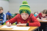 Darragh Connors, Kilmihil, during the Community Games Handwriting at St Josephs Secondary School Tulla on Saturday. Pic Arthur Ellis.