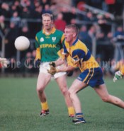 Ger Quinlan will be hoping to help Clare win the midfield battle against Fermanagh in Saturday's vital league tie in Kilmihil.