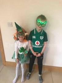 Liam (7) and Ellen (4) Hehir Ballyea