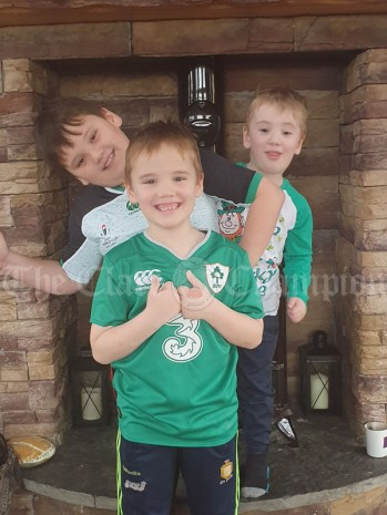Timmy,mark and Danny McMahon from Kilmurry McMahon