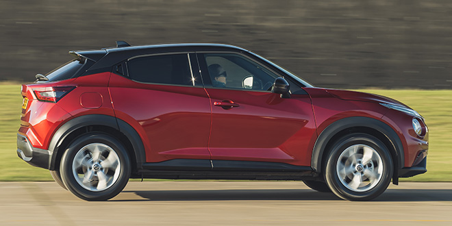 The new Nissan Juke
