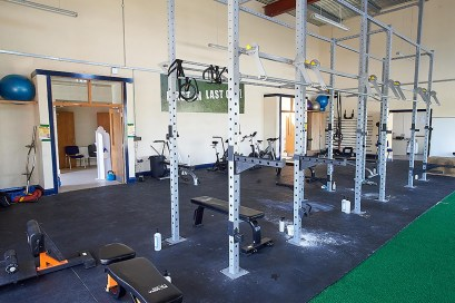 A general view of the gym at the Clare GAA Centre of Excellence in Caherlohan. Photograph by John Kelly