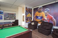 A view of one of the recreation rooms at the Clare GAA Centre of Excellence in Caherlohan. Photograph by John Kelly
