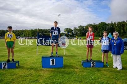 Clare Community Games Athletics Finals 2021 at John O'Sullivan Park, Lees Road, Ennis on 15/08/2021