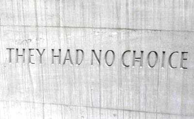 Oblivious… Exhausted… 'Realistic'… Inspired. The four stages of 'no choice'