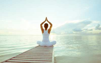 Yoga does a lot of things but it can't make you happy, calm or relaxed