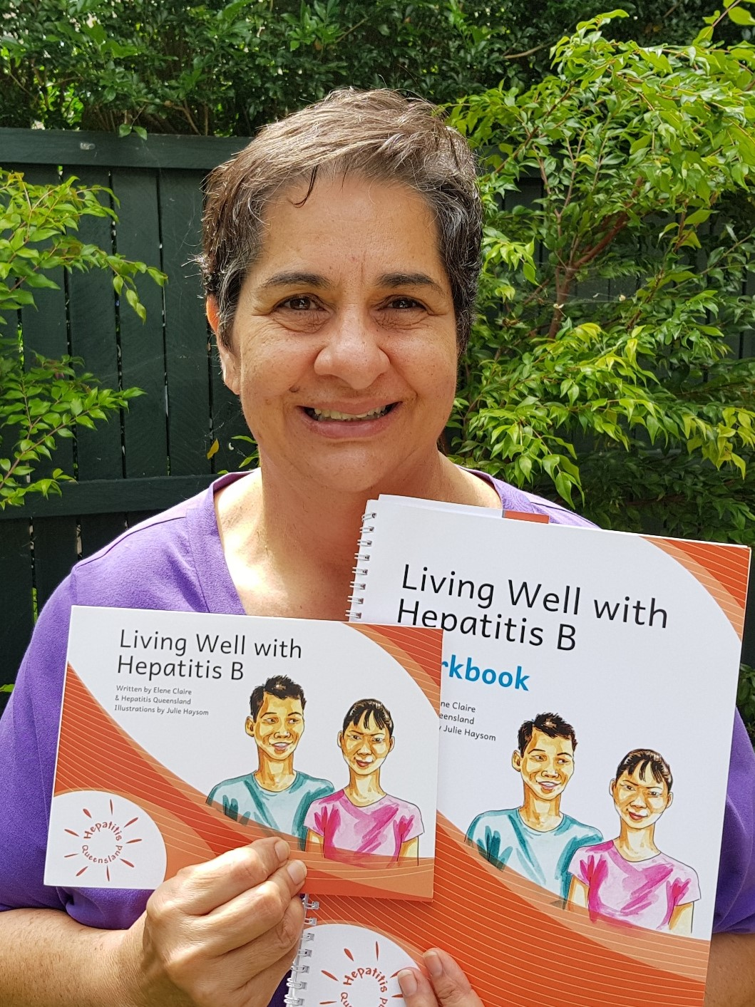 Living Well With Hepatitis B A Chat With Elene Claire