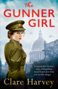 The Gunner Girl by author Clare Harvey