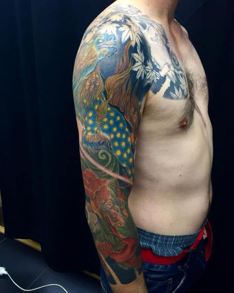 clareketontattoos_wip_dragon_tattoo