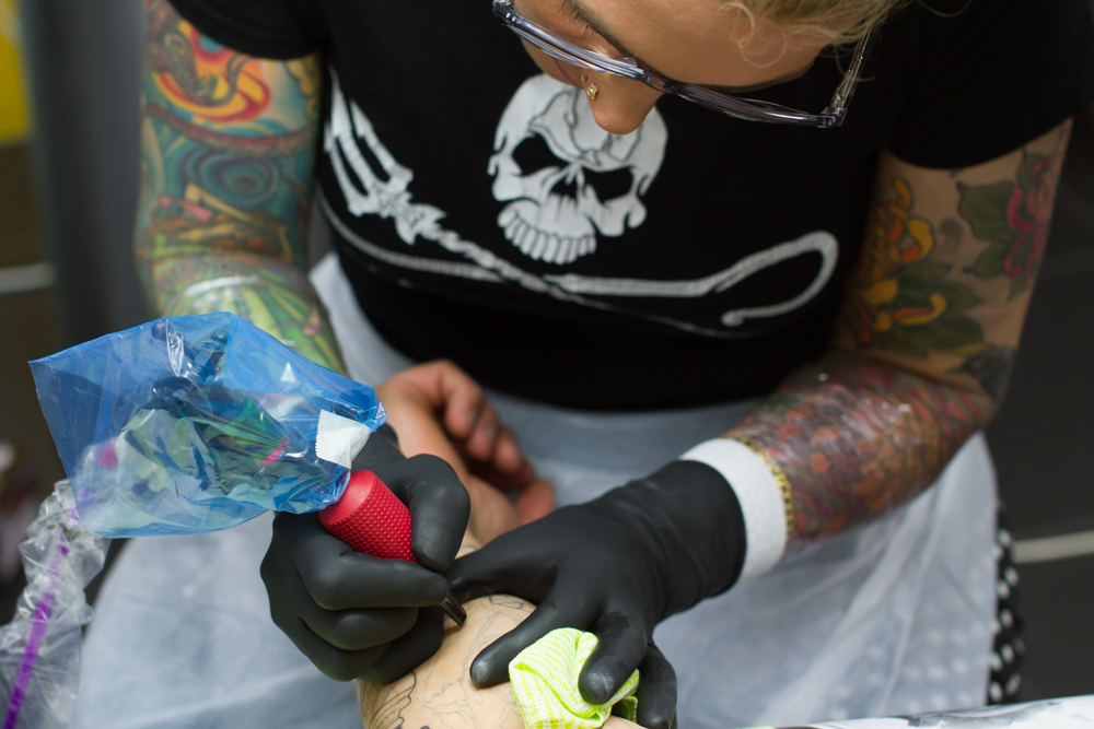 Clare Keton's Melbourne Tattoo Studio