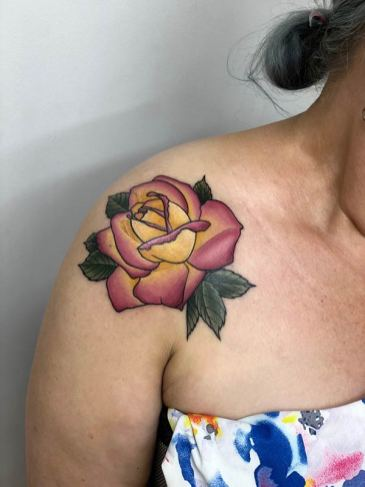 Flower Shoulder