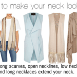 How to make your neck look longer or shorter