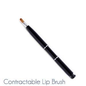 Contractable lip Brush