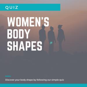 Women's body shape quiz