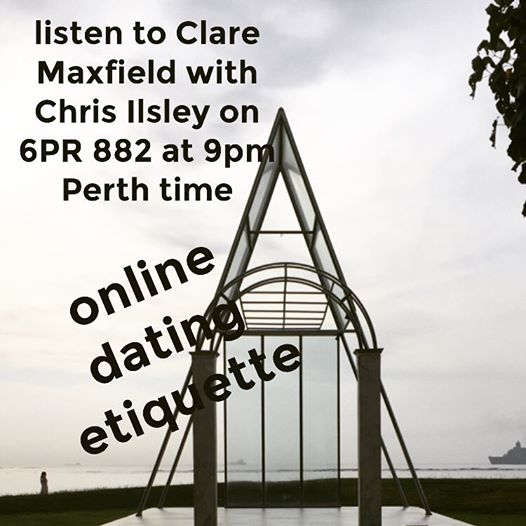 Interview with Chris Ilsley 6PR Perth – Dating Etiquette